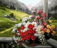 "Картина по номерам ""Букет в Альпах"" (400х500 мм)"