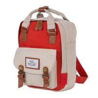 Рюкзак 17206 (5 л; бежевый/красный)