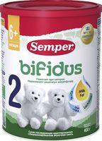 """Сухая молочная смесь Semper """"Bifidus 2"""" (400 г)"""