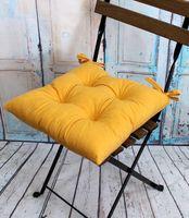 """Подушка на стул """"Velours"""" (42х42 см; горчичная)"""