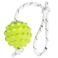 """Игрушка для собак """"Мячик на веревке"""" (30 см)"""