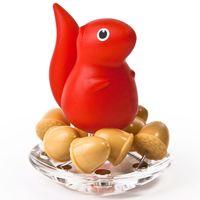 """Кнопки канцелярские """"Squirrel"""" (красные)"""