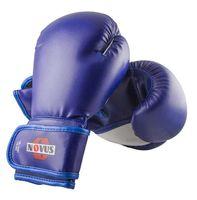 Перчатки боксёрские LTB-16301 (S/M; синие; 12 унций)
