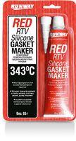 Силиконовый герметик-прокладка (красный; 85 г; арт. RW8500)