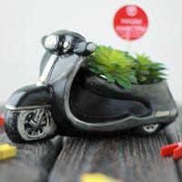 "Кашпо ""Мотоцикл"""