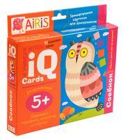 Набор занимательных карточек для дошколят. Совёнок