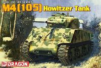 "Средний танк ""M4(105) Howitzer Tank"" (масштаб: 1/35)"