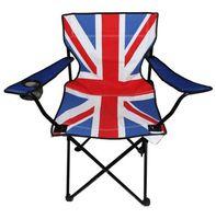 "Стул складной ""Британский флаг"""