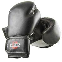 Перчатки боксёрские LTB-16301 (S/M; чёрные; 12 унций)
