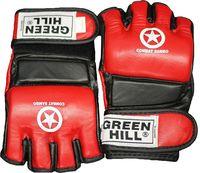 """Перчатки для MMA """"Combat Sambo"""" MMR-0027CS (S; красные)"""