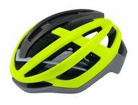 """Шлем велосипедный """"Lynx"""" (S-M; салатовый/серый)"""