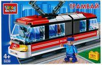 """Конструктор """"Транспорт. Трамвай с гармошкой"""" (181 деталь)"""