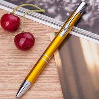 """Ручка шариковая черная """"Gold Click"""""""