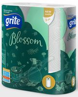 """Бумажные полотенца """"Blossom"""" (2 рулона; белые)"""