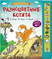 Разноцветные котята. Книжка-игрушка
