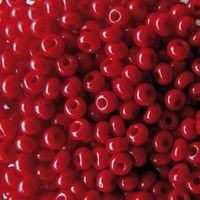 Бисер №93210 (красный)