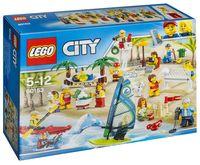"""LEGO City """"Отдых на пляже - жители"""""""
