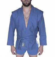 Куртка для самбо AX5 (р. 52; синяя; без подкладки)