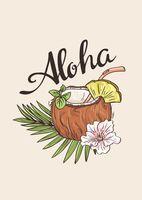 "Открытка ""Aloha"""