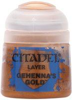 """Краска акриловая """"Citadel Layer"""" (gehenna's gold; 12 мл)"""