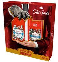 """Подарочный набор """"Old Spice Wolfthorn"""" (дезодорант, гель для душа)"""