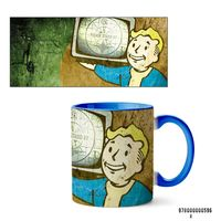 "Кружка ""Fallout"" (596, голубая)"