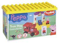 """Конструктор """"Peppa Pig. Поезд с остановкой"""" (15 деталей)"""