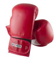 Перчатки боксёрские LTB-16301 (S/M; красные; 8 унций)