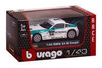 """Модель машины """"Bburago. BMW Z4 M Coupe"""" (масштаб: 1/43)"""