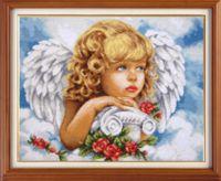 "Вышивка крестом ""Небесный ангел"" (285х360 мм)"