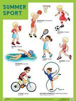 Summer Sport. Плакат