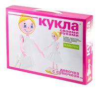 """Сборная модель из фоамирана """"Кукла. Девочка с сумочкой"""""""