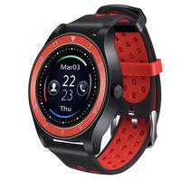 Фитнес-часы D&A F010 (черно-красные)