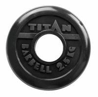 Диск обрезиненный 2,5 кг (чёрный)