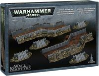 "Ландшафт ""Warhammer 40.000. Wall of Martyrs - Imperial Defence Line"" (64-53)"