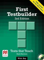 First Testbuilder. Student`s Book with Key (+ 2 CD)