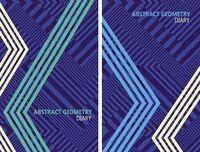 "Ежедневник недатированный ""Abstract Geometry"" (А6)"