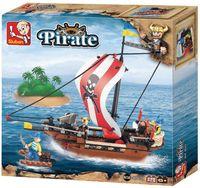 """Конструктор """"Пираты. Быстроходный пиратский корабль"""" (226 деталей)"""