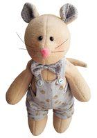 """Набор для шитья из ткани """"Очаровательный мышонок"""""""