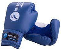 Перчатки боксёрские (10 унций; синие)
