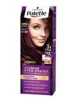 """Крем-краска для волос """"Интенсивный цвет"""" тон: 4-89, баклажан"""