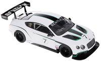 """Модель машины """"Bburago. Race. Bentley Continental GT3"""" (масштаб: 1/24)"""