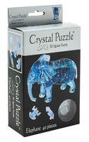 "Пазл ""3D Crystal Puzzle. Слон"" (40 элементов)"