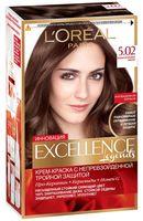 """Крем-краска для волос """"Excellence"""" (тон: 5.02, обольстительный каштан)"""