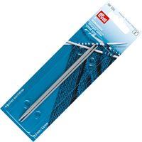 Набор спиц вспомогательных для вязания (алюминий; 2,5-4 мм; 12 см)