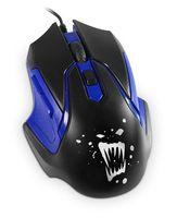 Мышь игровая Partner Rage RM-07 (черно-синяя)