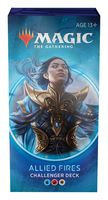 Magic the Gathering. Challenger Deck 2020. Allied Fires