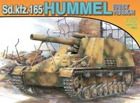 "Немецкий танк ""Sd.Kfz.165 Hummel Early Production"" (масштаб: 1/72)"