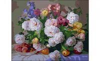 """Картина по номерам """"Цветы и фрукты"""" (400x500 мм)"""