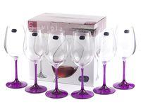 """Бокал для вина стеклянный """"Viola"""" (6 шт.; 350 мл; арт. 40729/D4834/350)"""